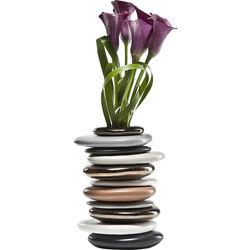 Váza Pebbles Mocca 27cm