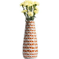 Vase Azucar Orange 41cm
