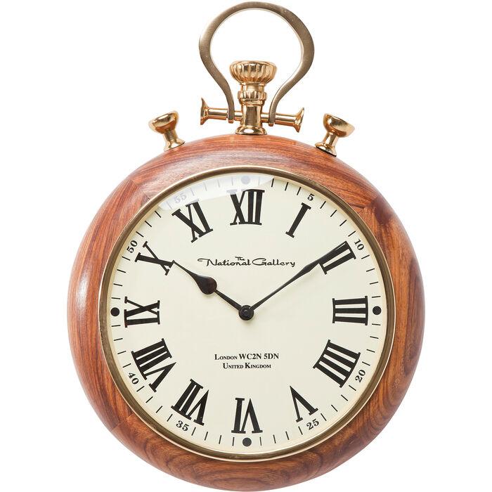 wall clock pocket wood kare design. Black Bedroom Furniture Sets. Home Design Ideas
