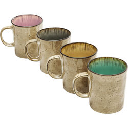 Mug Crackle Vivido Assorted