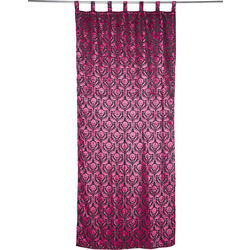 Curtain Royal Pink 105x250cm