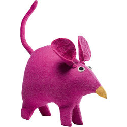Deco Figurine Felt Mouse