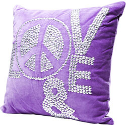 Cushion Love and Peace 40x40cm