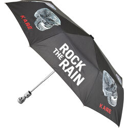 Pocket Umbrella Skull Rock the Rain Kare