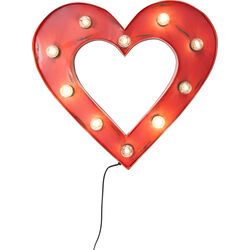 Wall Light Heart 10-lite