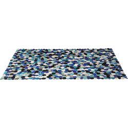 Carpet Circle Multi Blue 170x240cm