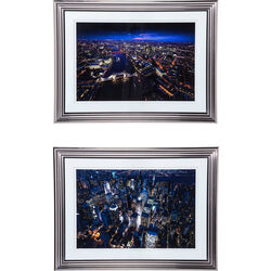Picture Frame City Nights 92x122cm Assorted