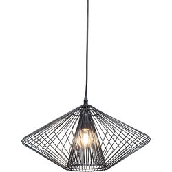 Pendant Lamp Modo Wire Round Black