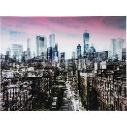 Picture Glass NY Skyline 120x160cm