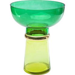 Vase Orient Green-Yellow