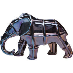 Deco Figurine Elefant Blue