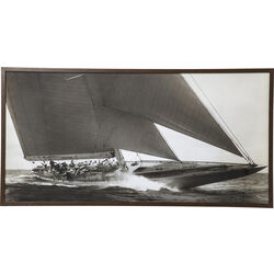 Picture Frame Sailing 84x164cm