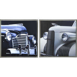 Picture Frame Oldtimer 104x104cm Assorted