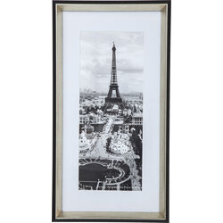 Picture Frame Eiffel Tower 56x28cm