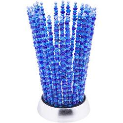 Tealight Holder African Crystal Blue