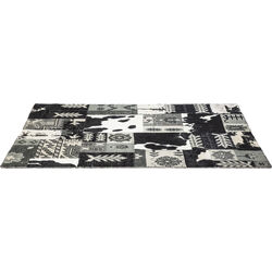 Carpet Square Mix It Black 170x240cm
