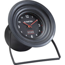 Table Clock Altimeter Round