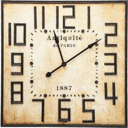 Wall Clock Antiquite De Paris Square