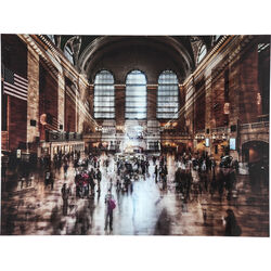 Quadro vetro Grand Central Station 120x160cm