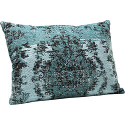 Cushion Kelim Pop Turquoise 60x40cm