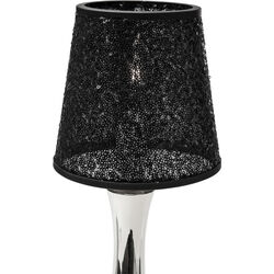 Lamp Shade Paillette Black