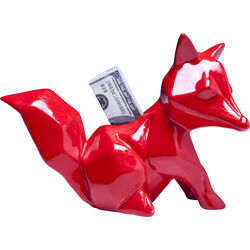 Money Box Fox Red