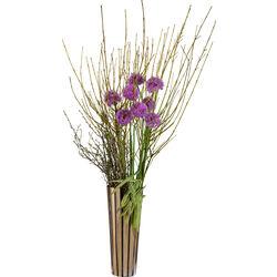 Vase Stripes Gold 50cm