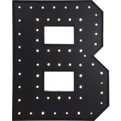 Wall Light B Black LED