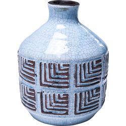 Deco Vase Muse Blue 20cm