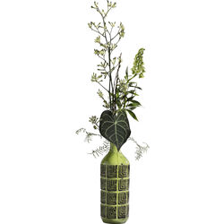 Deco Vase Muse Green 42cm