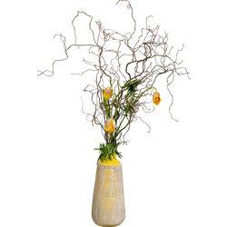 Deco Vase Muse Yellow 42cm
