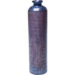 Vase Dust Carved Purple 40cm