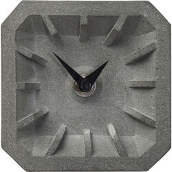 Table Clock Concrete Square