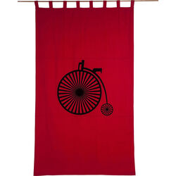 Curtain  Bycicle Retro 140x240cm