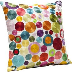 Cushion Circles Multi Colour 45x45cm