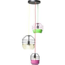 Pendant Lamp Gabbia Colore 3-lite