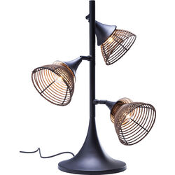 Table Lamp Rattan Tre