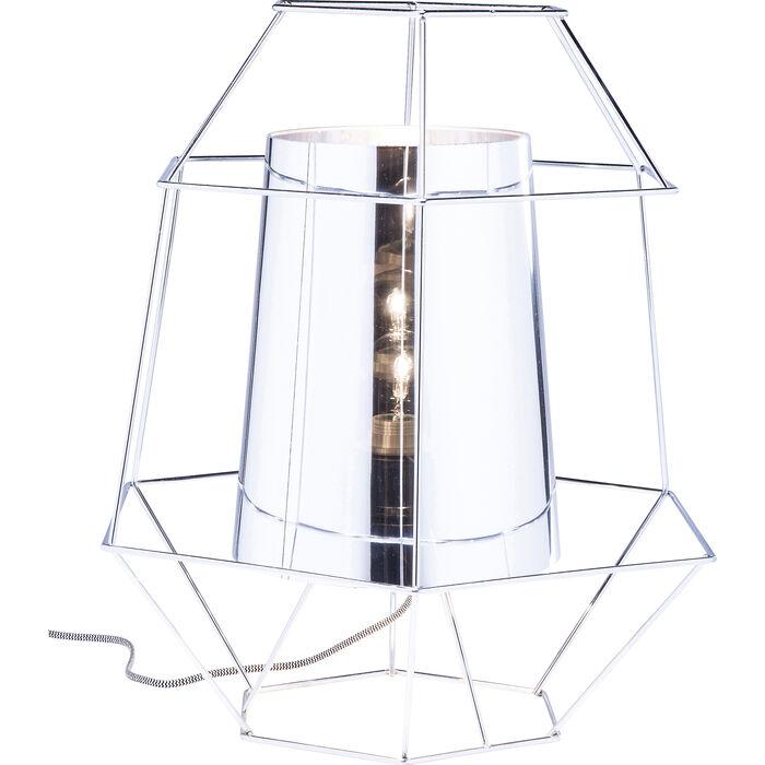 lampe de table wire argent e kare design. Black Bedroom Furniture Sets. Home Design Ideas