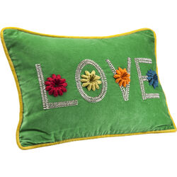 Cushion Love Green 35x50cm