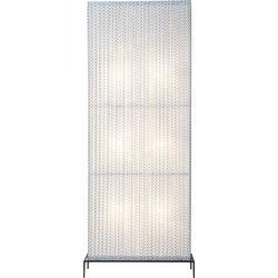 Floor Lamp Rectangular  Black & White 185cm