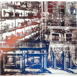 Picture Glass Brooklyn by Mayk Azzato 90x85cm