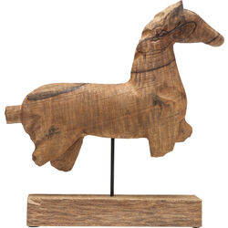 Deco Figurine Horse Nature