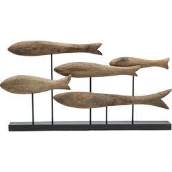 Deco Object Fischschwarm