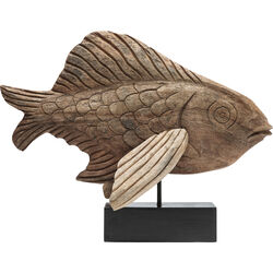 Deco Figurine Flying Fish Nature