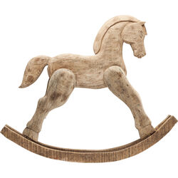 Deco Figurine Rocking Horse Nature