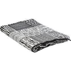 Blanket Quad B&W 170x130cm