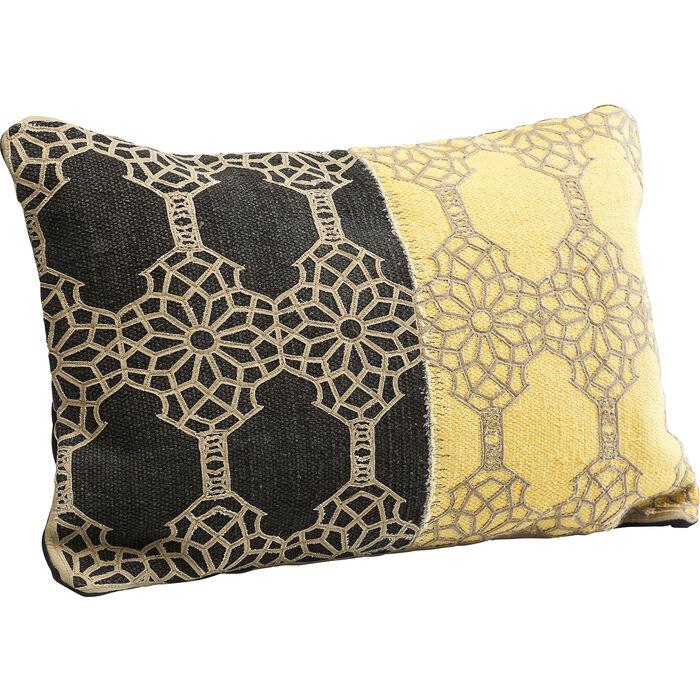 kissen applique 35x55cm kare design. Black Bedroom Furniture Sets. Home Design Ideas