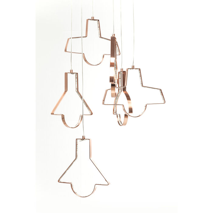 lampada a sospensione Foggia LED 6pz - KARE Design