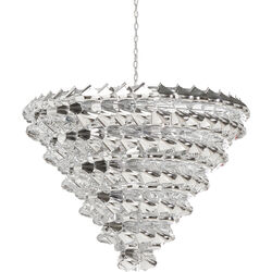 Pendant Lamp Domino Chrome 13-lite