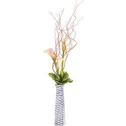 Vase Fischschwarm Square 40cm